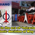 "We are in the era of ""miracles"" with the historic decision of May 9, 2018"