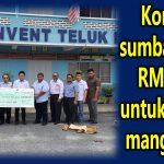 Kor Ming sumbang lebih RM30,000 untuk sekolah, mangsa ribut