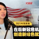 杨美盈:在后新冠危机复苏期 创造新绿⾊就业机会