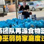 刘强燕团队再派食物篮口罩 协助诗巫弱势家庭度过困难