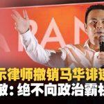 张哲敏欢迎联邦法院标杆性裁决 已指示律师入禀法庭撤销马华诽谤官司